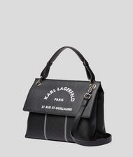 KARL LAGERFELD Rue St Guillaume Top Handle Bag 9_f