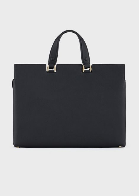 Le Sac11 leather tote bag