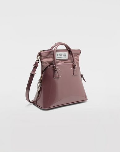 BAGS 5AC patent leather mini bag Pink