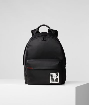 KARL LAGERFELD KARL LEGEND NYLON BACKPACK