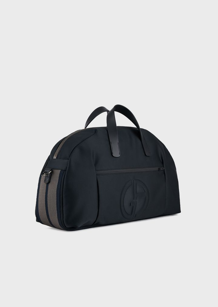 20deef6a9c Holdall with embossed logo and detachable shoulder strap