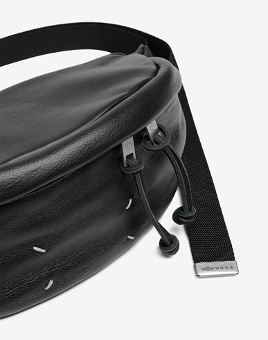 BAGS 4-stitches bumbag Black