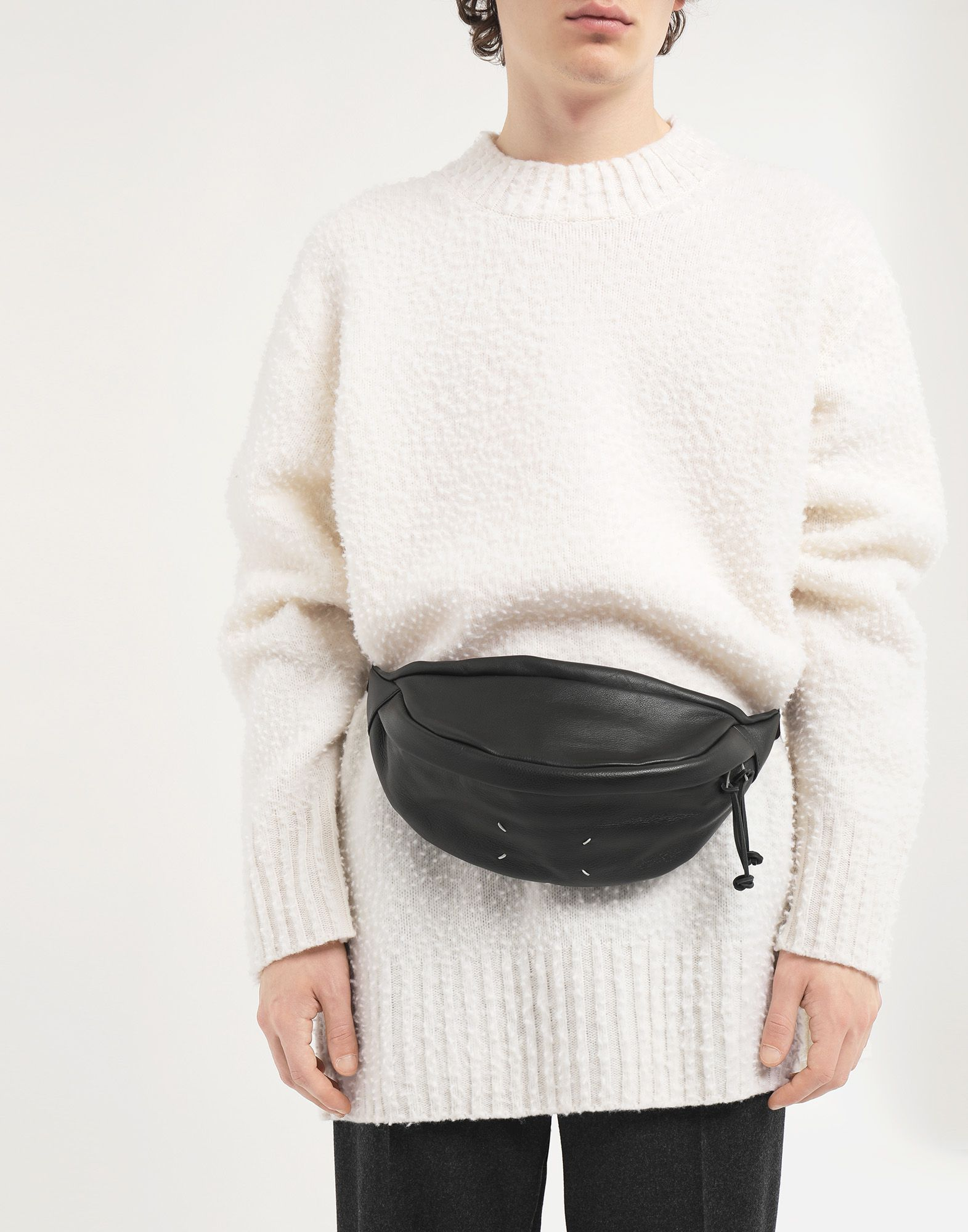 MAISON MARGIELA 4-stitches bumbag Fanny pack Man r