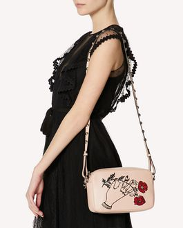 REDValentino METAL DOTS HEARTS'S TALE #3 JOY  CROSS BODY BAG