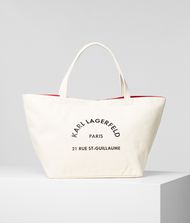 KARL LAGERFELD Rue St Guillaume Tote 9_f