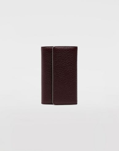 MAISON MARGIELA Leather key wallet Key holders Man f