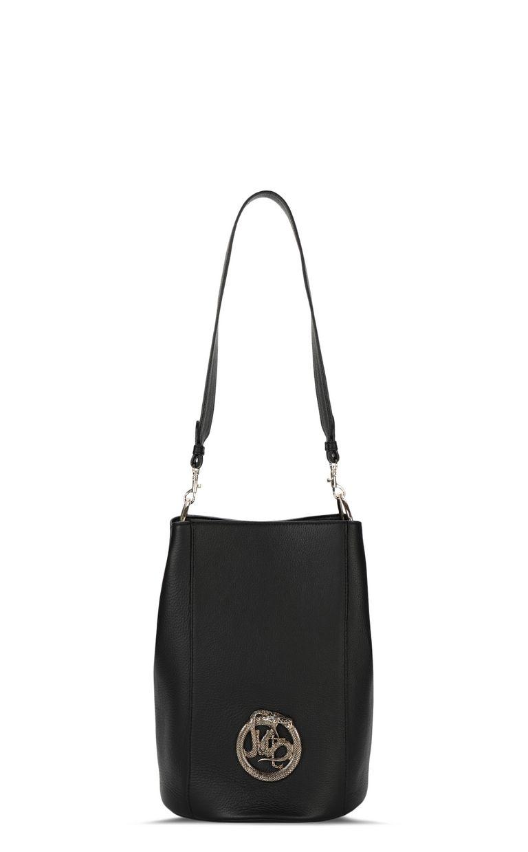 JUST CAVALLI Bucket bag with logo Crossbody Bag Woman f