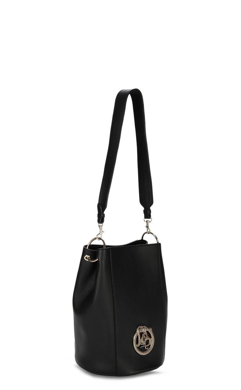 JUST CAVALLI Bucket bag with logo Crossbody Bag Woman r