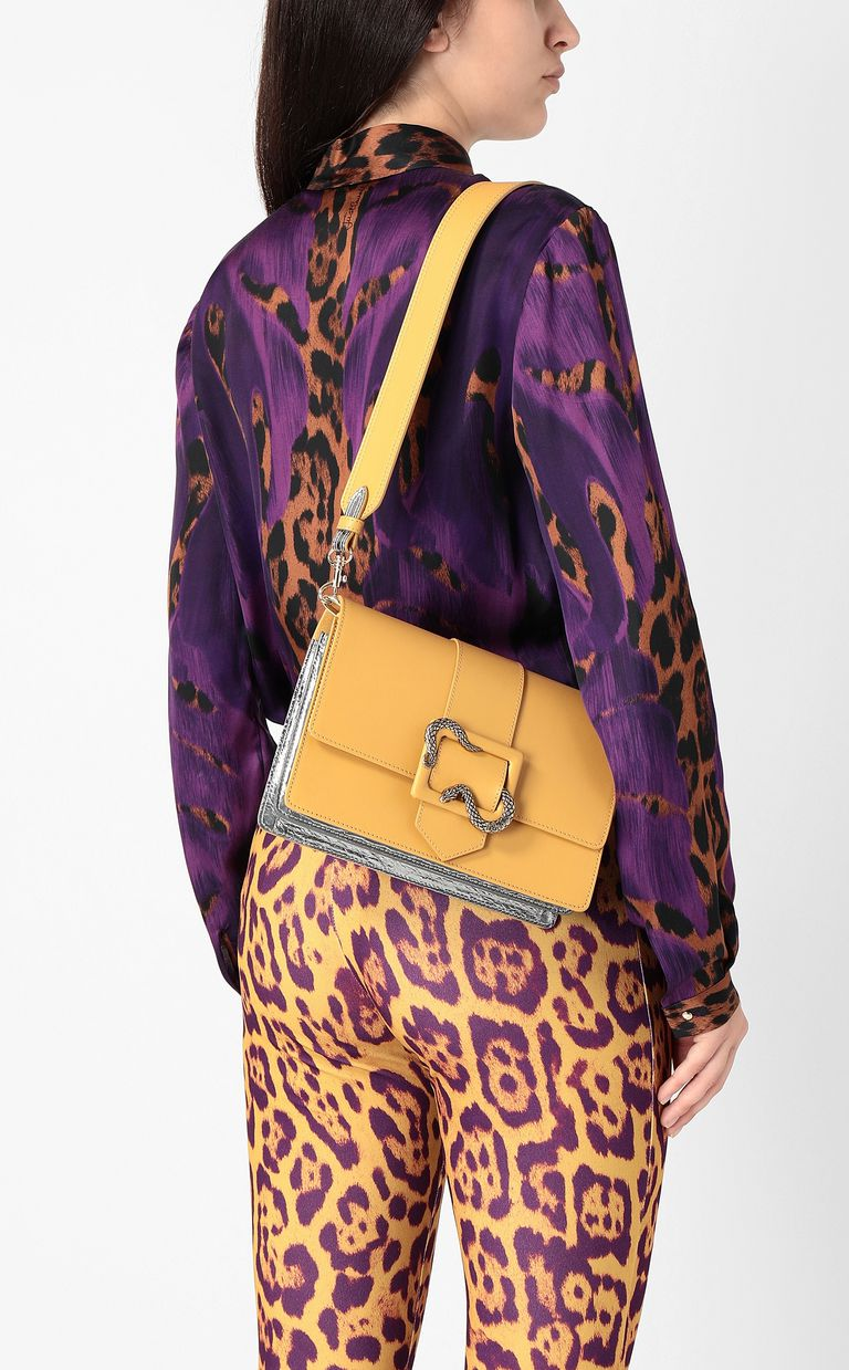 JUST CAVALLI Snake-buckle shoulder bag Crossbody Bag Woman d