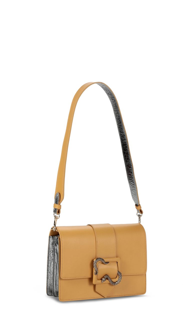 JUST CAVALLI Snake-buckle shoulder bag Crossbody Bag Woman r