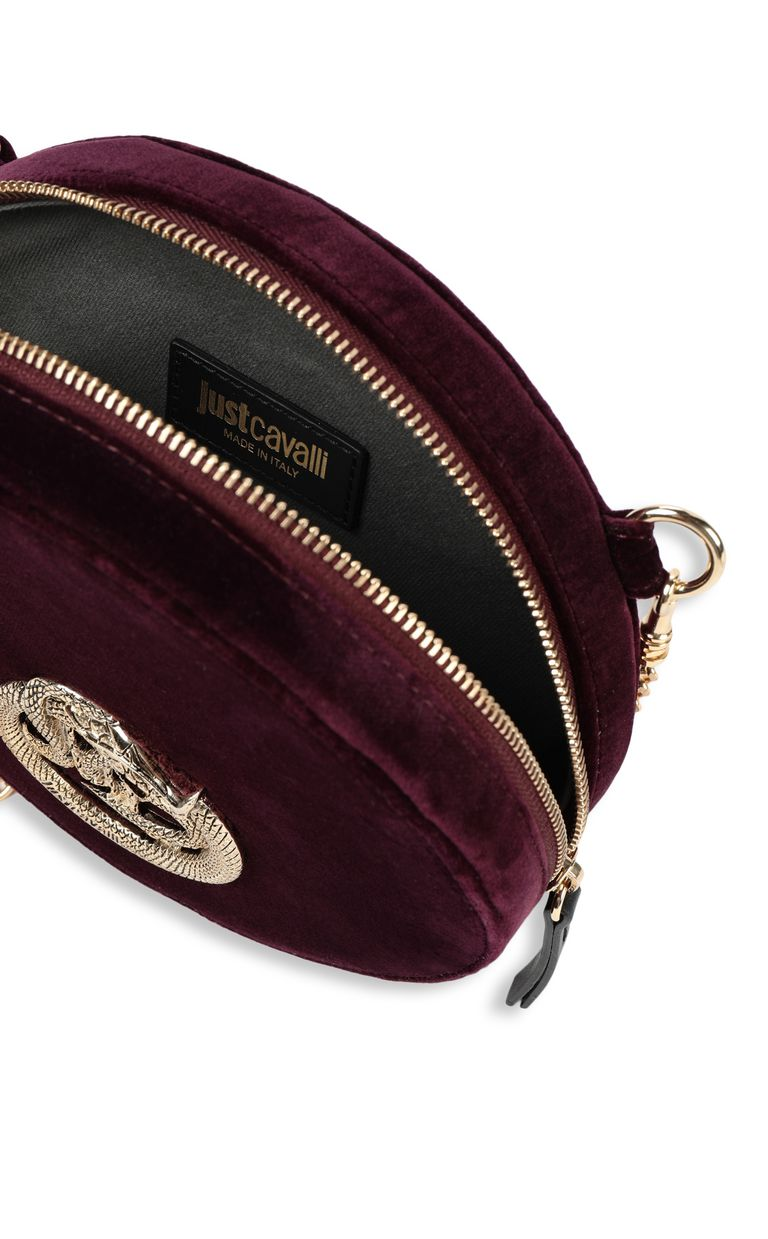 JUST CAVALLI Velvet shoulder bag Crossbody Bag Woman a