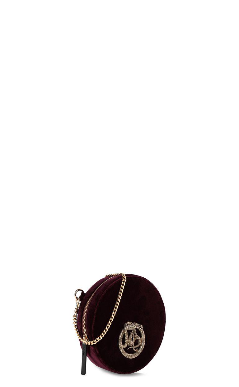 JUST CAVALLI Velvet shoulder bag Crossbody Bag Woman r