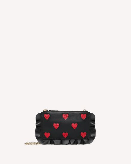 REDValentino Clutches and pochettes Woman SQ2P0A52CZC 0NR a