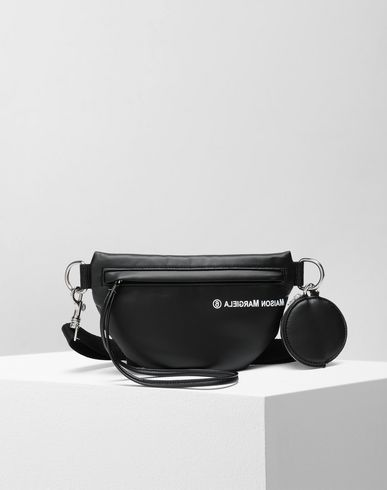 BAGS Two-compartment bumbag Black