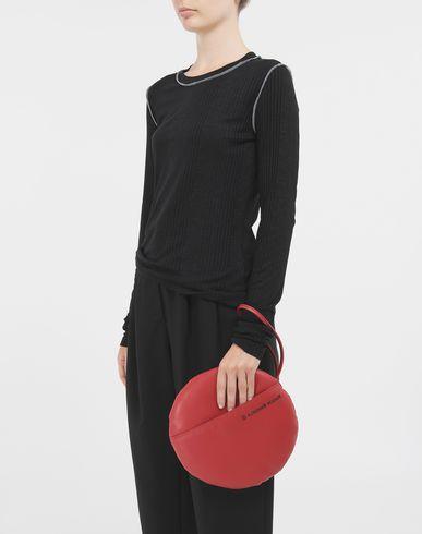 BAGS Round pochette Red