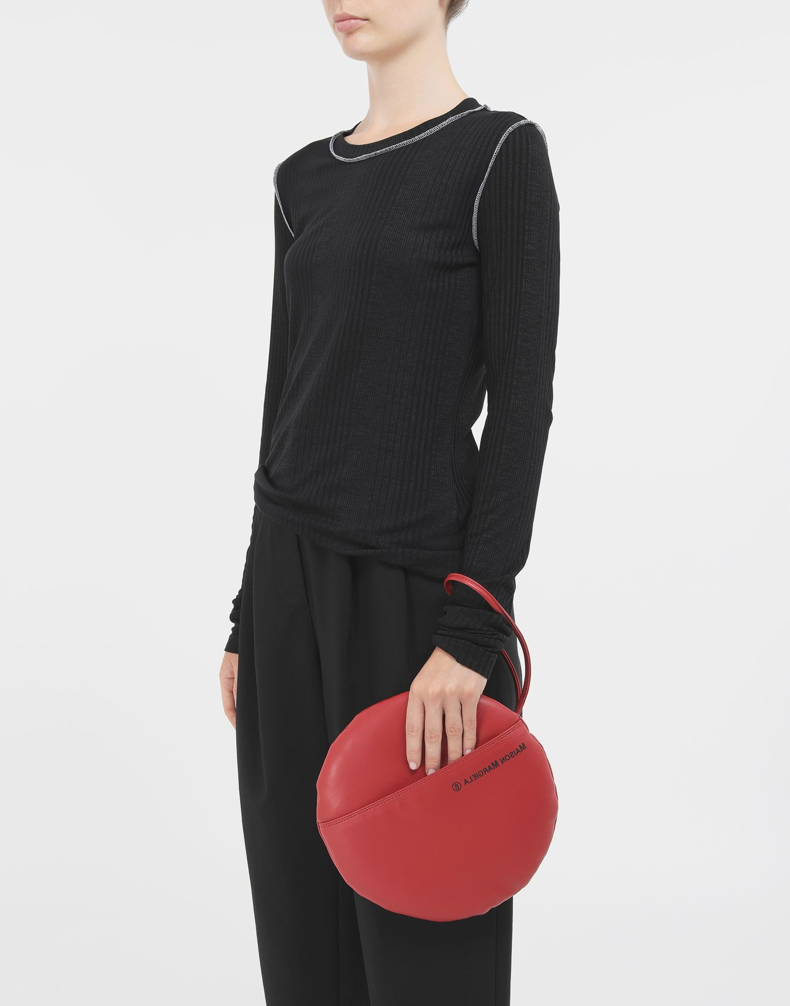 MM6 MAISON MARGIELA Round pochette Clutch Woman r