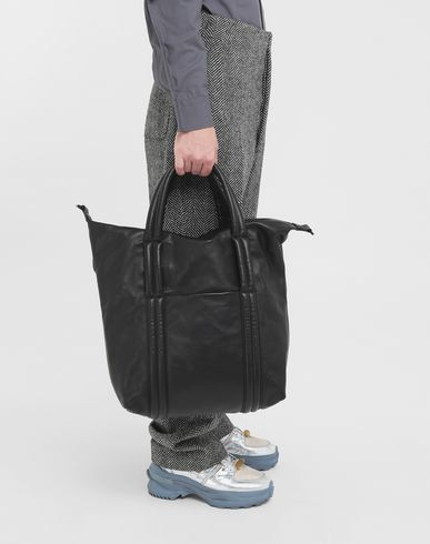 BAGS Sailor leather bag  Black