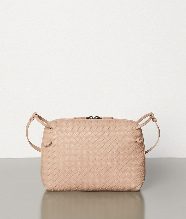 BOTTEGA VENETA SMALL NODINI BAG IN INTRECCIATO NAPPA Crossbody and Belt Bags Woman fp