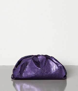 THE POUCH IN METALLIC NAPPA
