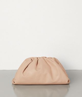 BORSA POUCH IN VITELLO BUTTER