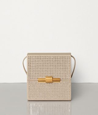 DAISEY BAG IN EMBELLISHED LINEN