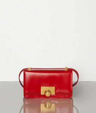 MINI BV CLASSIC BAG IN SPAZZOLATO CALF