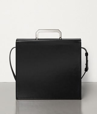 MEDIUM BRIEFCASE IN SPAZZOLATO CALFSKIN