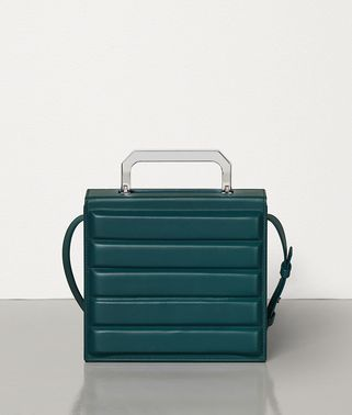 MINI TRUNK IN PADDED BUTTER CALFSKIN