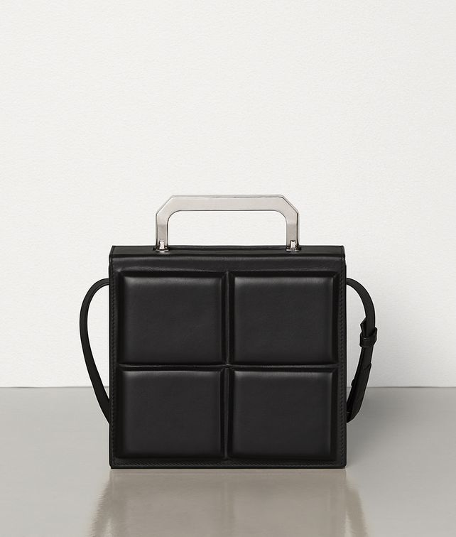 BOTTEGA VENETA MINI TRUNK IN PADDED CALF Messenger Bag E fp