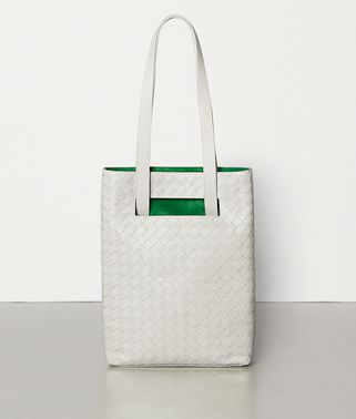 SMALL TOTE IN MAXI INTRECCIO