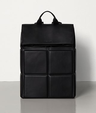 BACKPACK IN PADDED BUTTER CALFSKIN