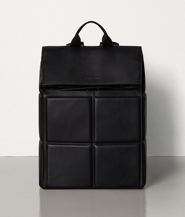 BOTTEGA VENETA BACKPACK IN PADDED BUTTER CALFSKIN Backpack Man fp
