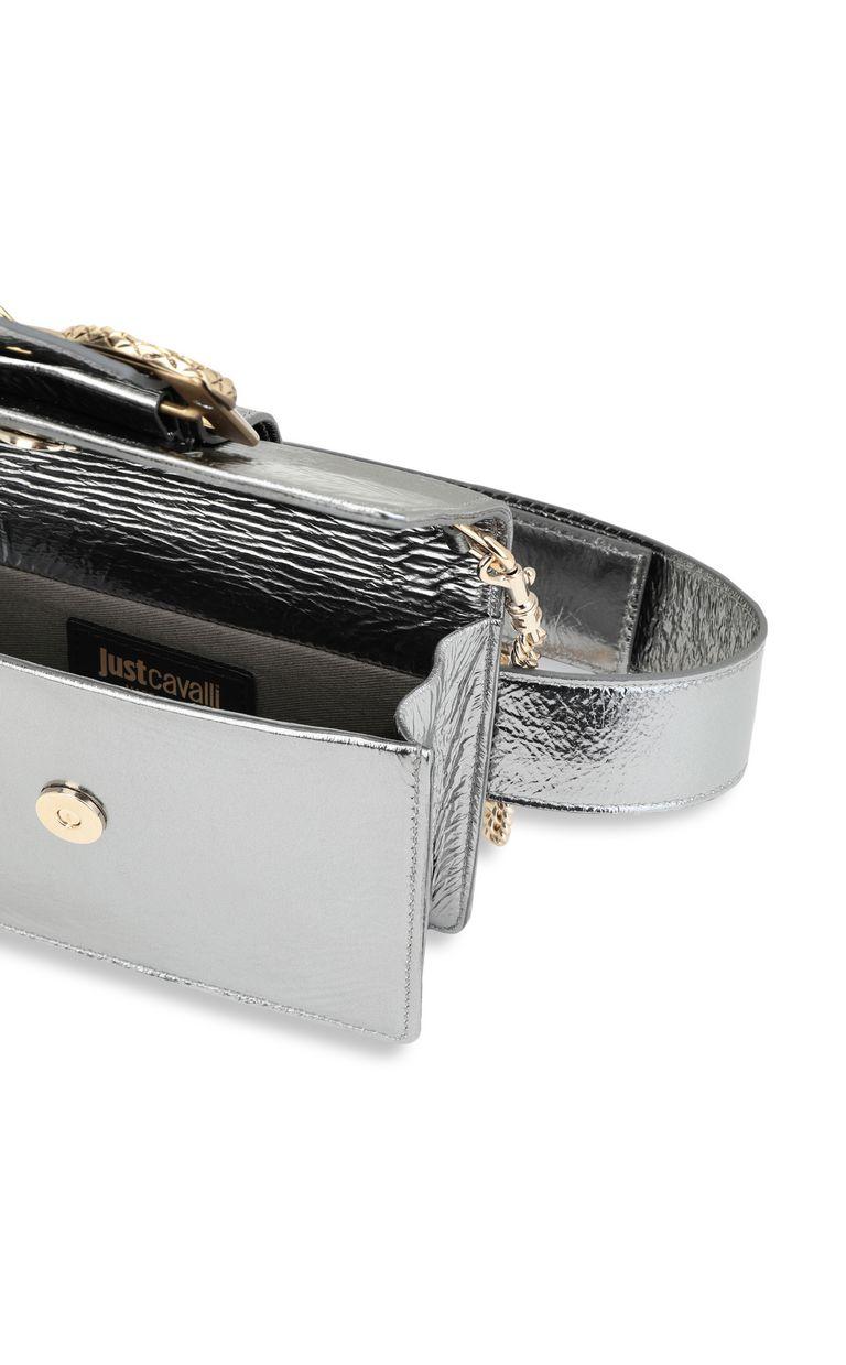 JUST CAVALLI Snake-buckle belt bag Crossbody Bag Woman a