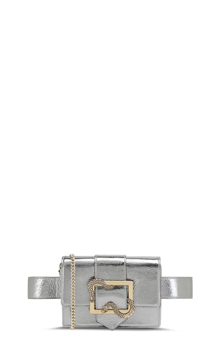 JUST CAVALLI Snake-buckle belt bag Crossbody Bag Woman f