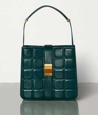 PADDED MARIE BAG IN PAPER CALFSKIN