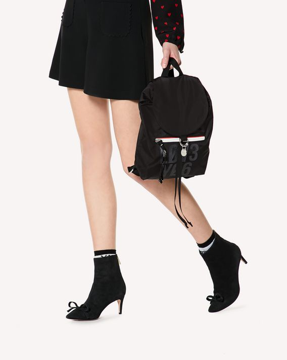 REDValentino RED PACKER ENCRYPTED LOVE NOTES BACKPACK