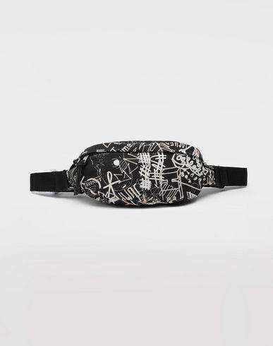 BAGS Graffiti bumbag Steel grey