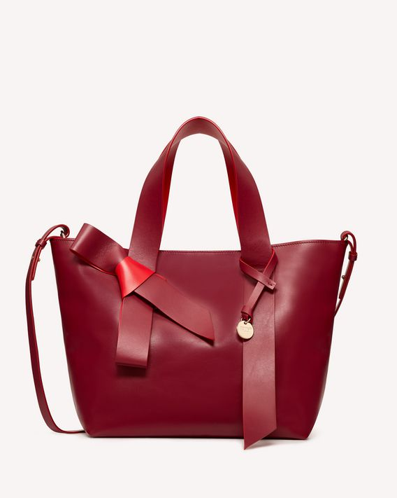 REDValentino XL BOW TOTE BAG