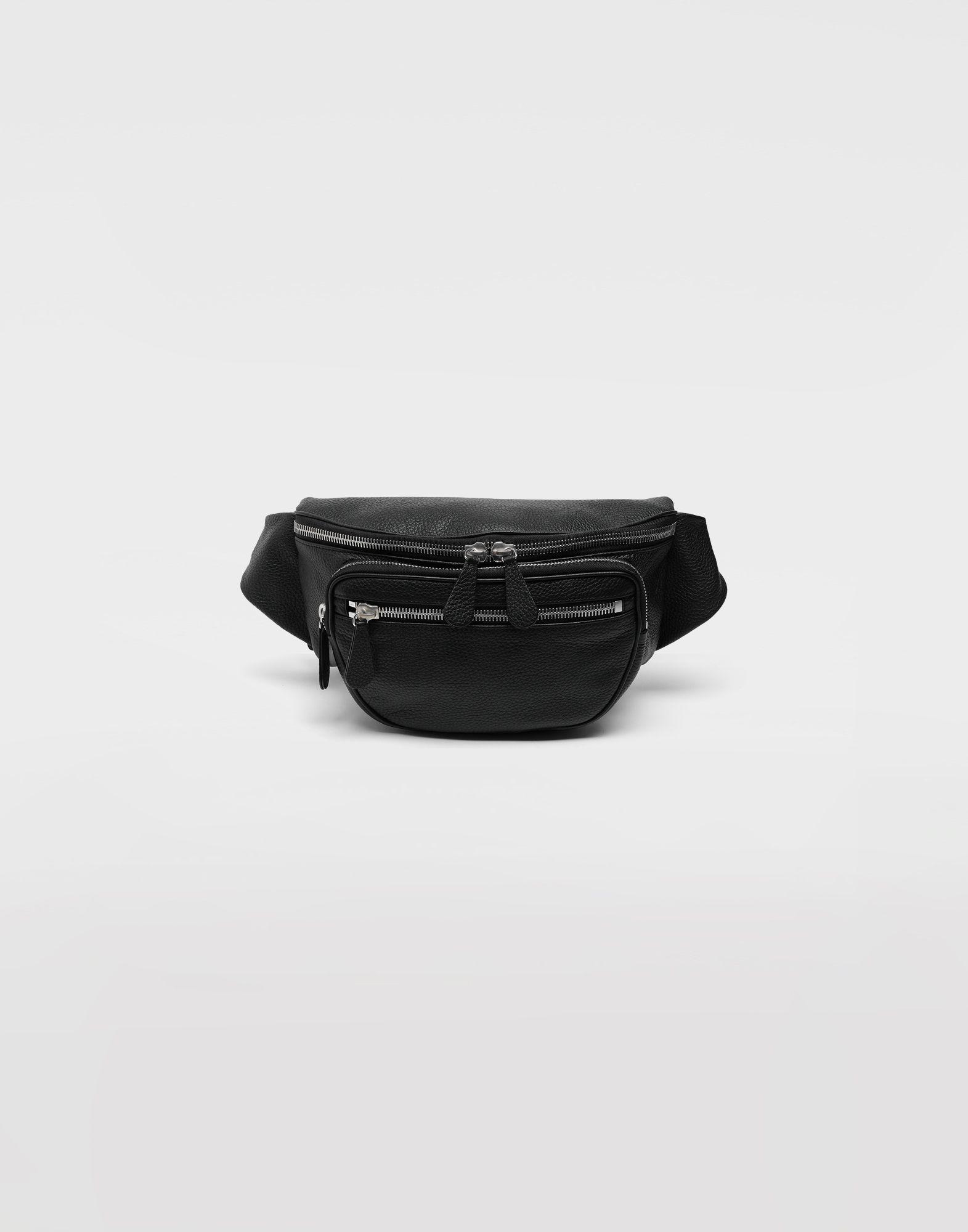 MAISON MARGIELA Кожаная поясная сумка Поясная сумка Для Мужчин f