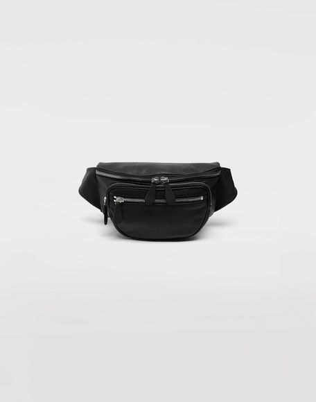 MAISON MARGIELA Leather bumbag Bum bag Man f
