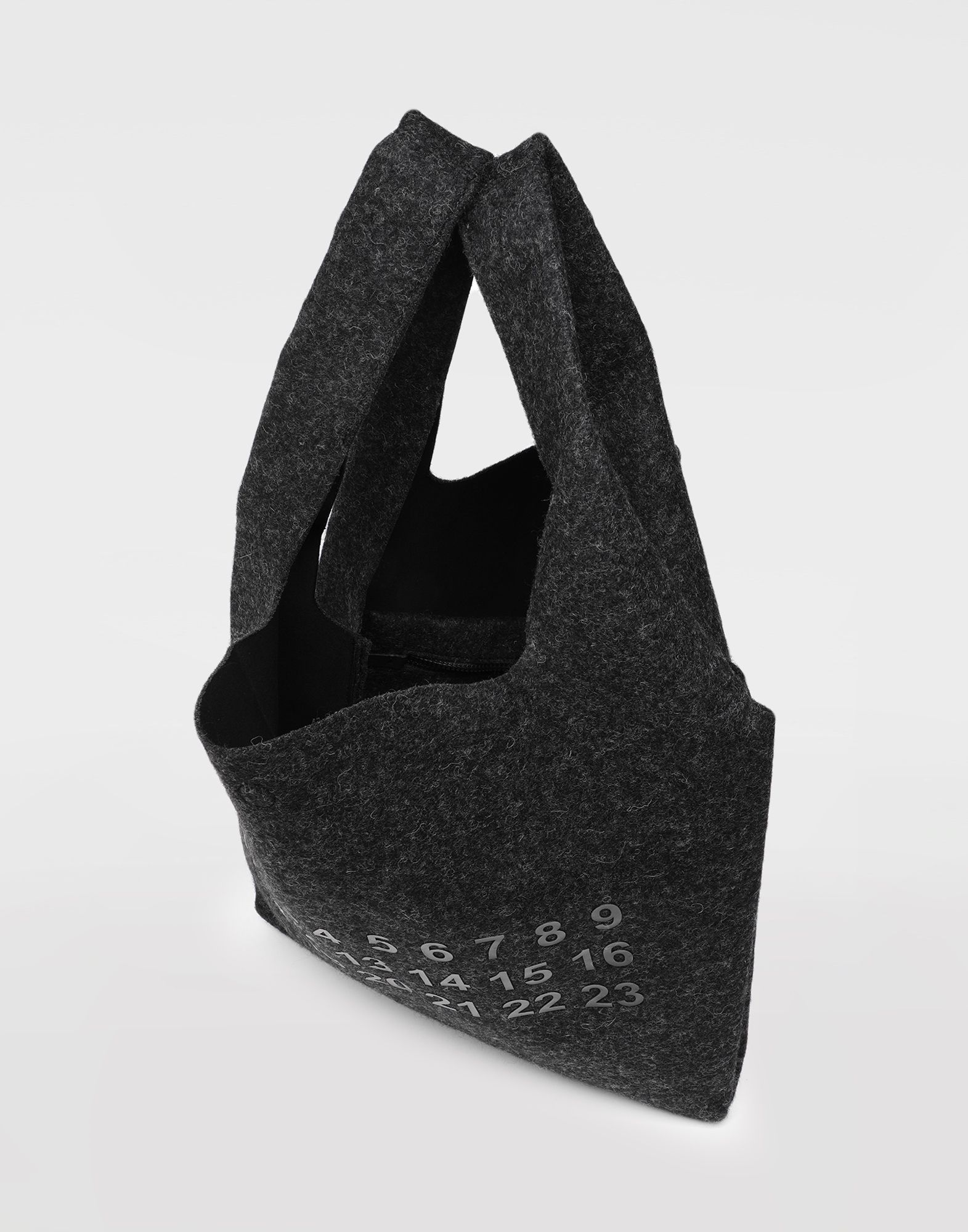 MAISON MARGIELA Logo felt shopping bag Tote Man e