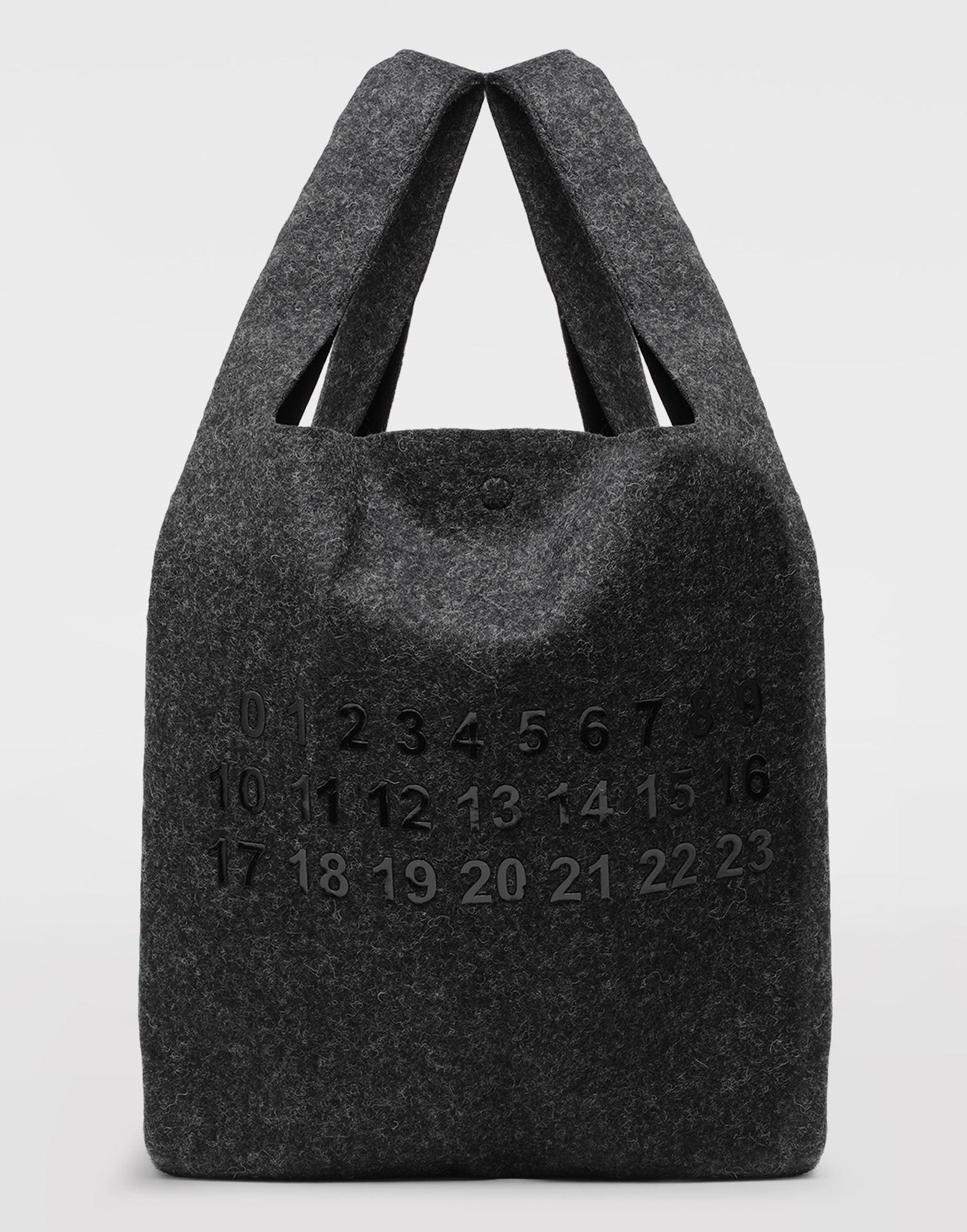 MAISON MARGIELA Logo felt shopping bag Tote Man f