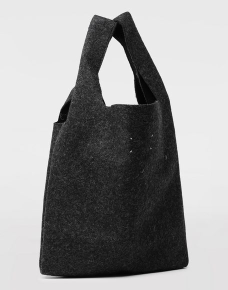 MAISON MARGIELA Logo felt shopping bag Tote Man d