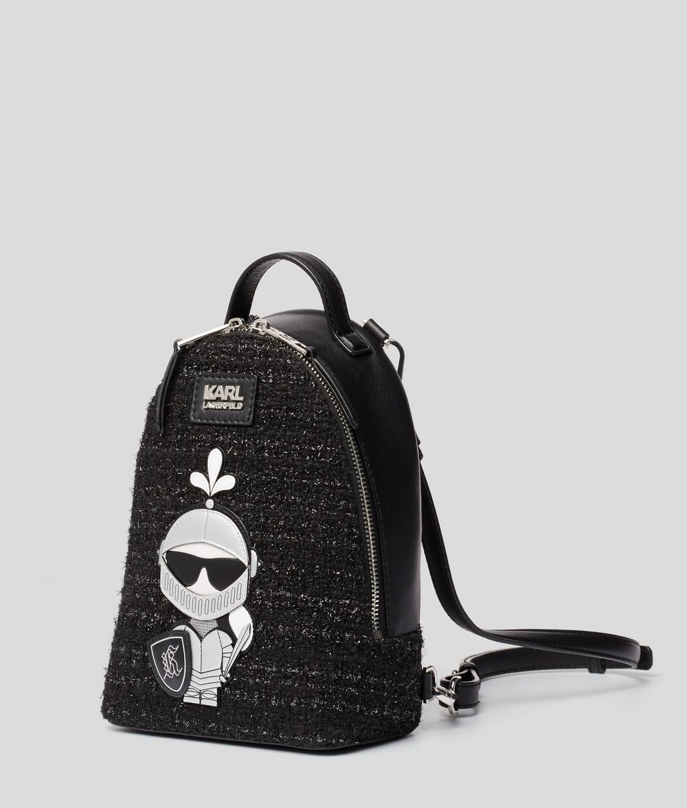 KARL LAGERFELD Твидовый рюкзак K/Treasure Рюкзак Для Женщин d