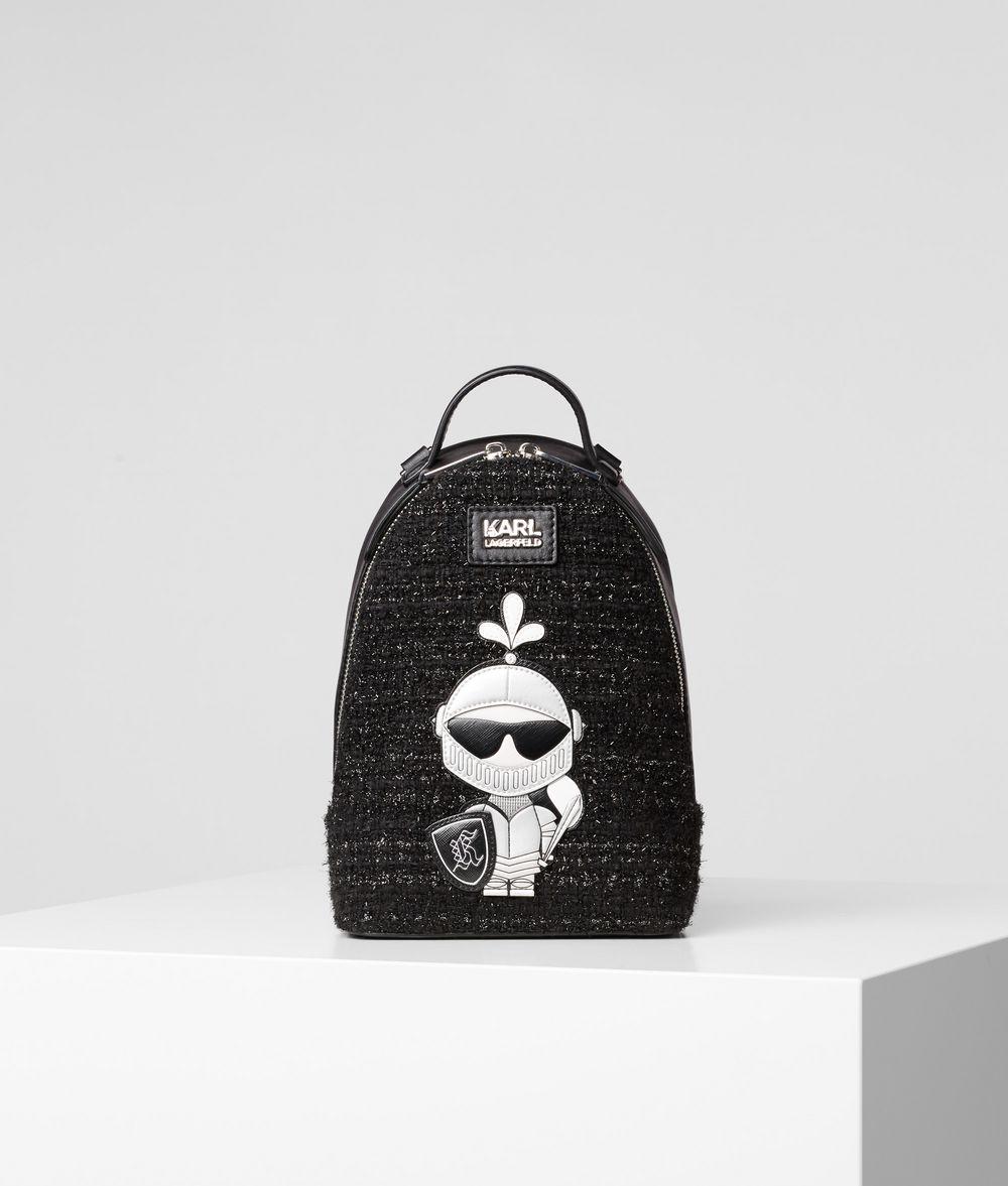 KARL LAGERFELD Твидовый рюкзак K/Treasure Рюкзак Для Женщин f