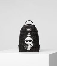 KARL LAGERFELD Твидовый рюкзак K/Treasure 9_f