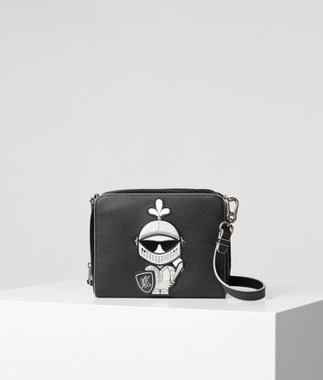 KARL LAGERFELD K/TREASURE 2-IN-1 CROSSBODY BAG