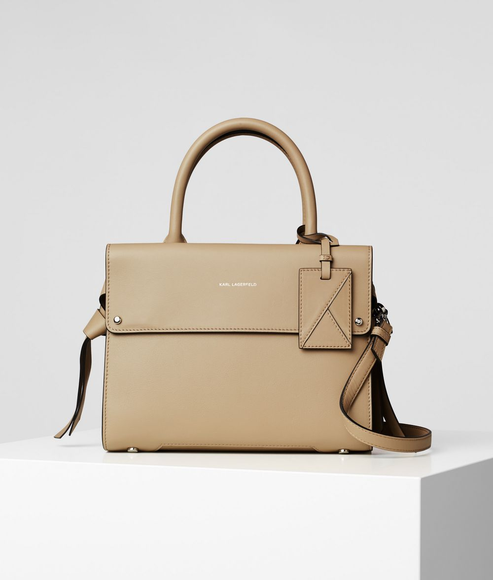 KARL LAGERFELD K/Ikon Mini Top Handle Bag Handbag Woman f