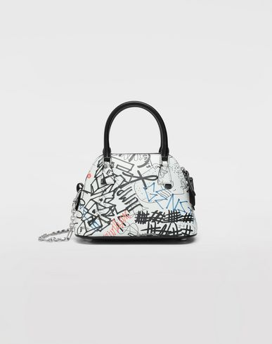 BAGS Graffiti 5AC micro bag White