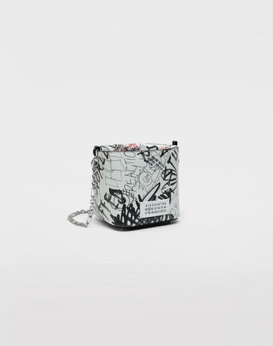 BAGS Graffiti 5AC bucket bag White